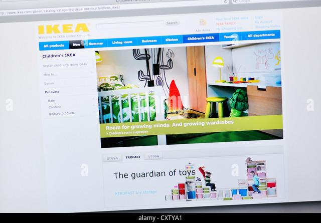 ikea web stock photos ikea web stock images alamy. Black Bedroom Furniture Sets. Home Design Ideas