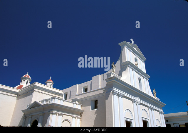 Puerto Rico Old San Juan Cathedral - Stock Image
