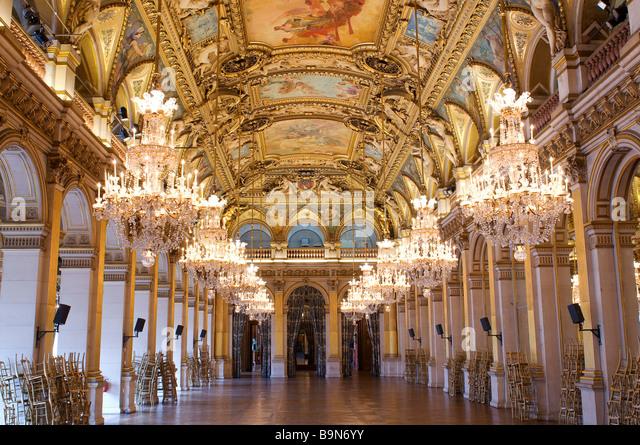 Hotel de ville paris interior stock photos hotel de for Hotel deville paris