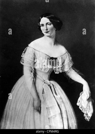 Women's Fashion, 1850 - Stock-Bilder