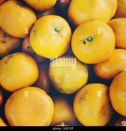 Fresh oranges - Stock-Bilder
