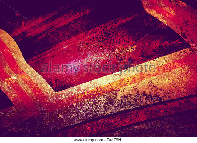 painted abstract - Stock Image