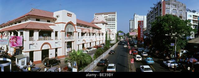 Bogyoke Aung San market, Rangoon, Yangon, Burma, Myanmar, Asia - Stock-Bilder