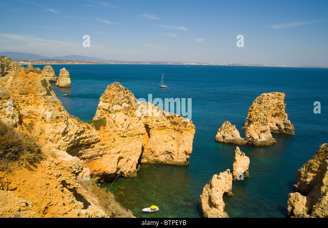 Point of Pity, Ponta da Piedade, Lagos, Algarve, Portugal - Stock Image