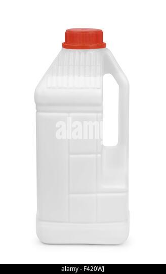 Acrylic primer coating canister isolated on white - Stock Image