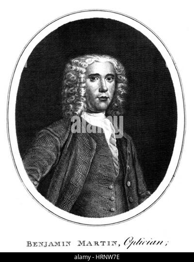 Benjamin Martin, English Lexicographer - Stock Image