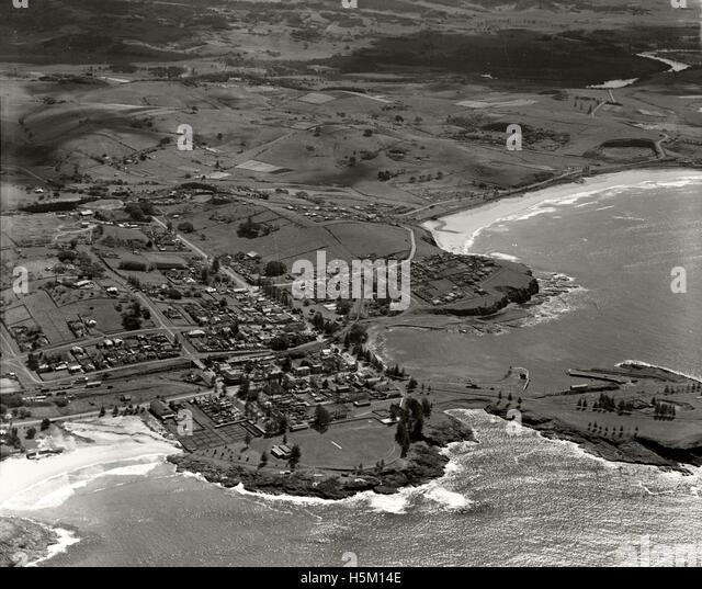 Kiama - 1936 - Stock Image