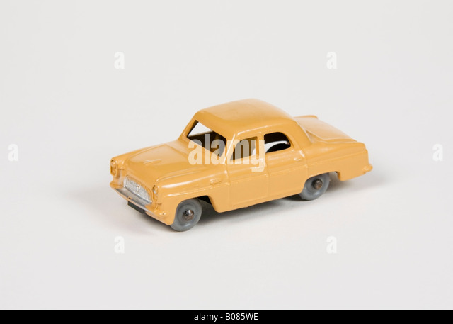 Dublo Dinky Ford Prefect car - Stock Image