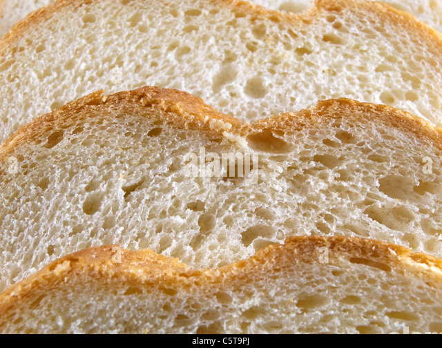 Background. Slices of bread close up - Stock-Bilder