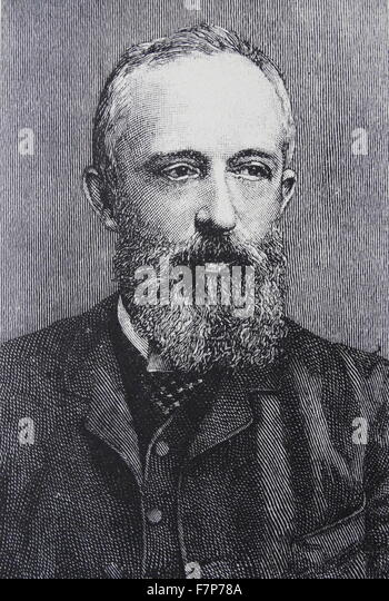Hermann Levi conductor of 'Parsifal' at Bayreuth - Stock Image