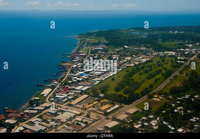 Capital City Of The Solomon Islands