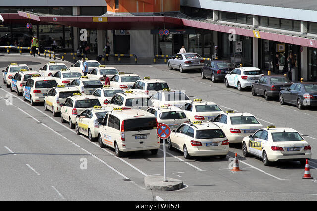 Taxi stand in airport stock photos taxi stand in airport for Berlin tegel rent a car