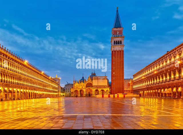 Piazza San Marko, Venice - Stock-Bilder