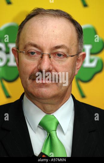 Mieczyslaw Kasprzak from Polskie Stronnictwo Ludowe party (Peasant Party) - Stock Image