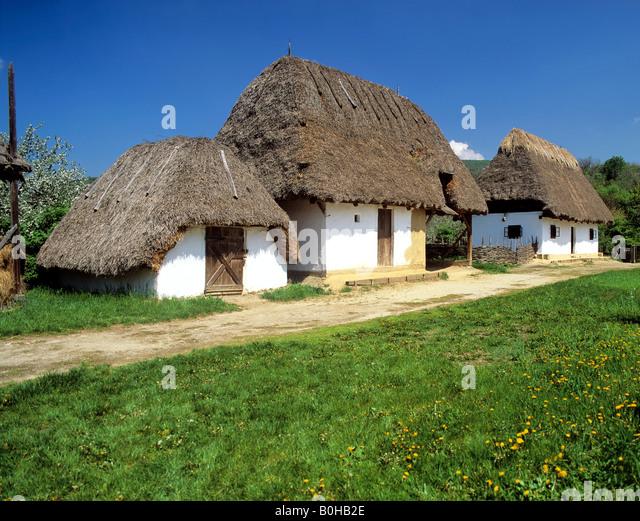 Csarda, farmhouse in the Puszta, Hungary - Stock-Bilder