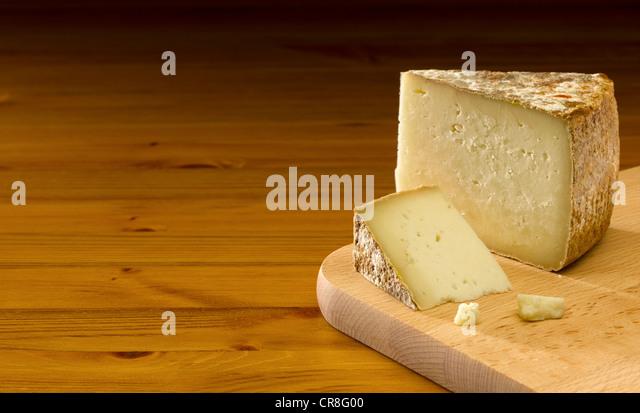 Pecorino Cheese - Stock Image