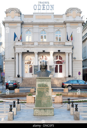 The Odeon Theatre (Teatrul Odeon) in Bucharest, the capital of Romania. - Stock Image