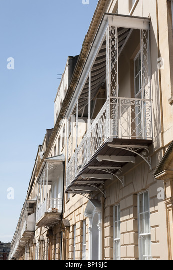 Georgian balcony on houses in stock photos georgian balcony on houses in stock images alamy - Houses with covered balconies ...
