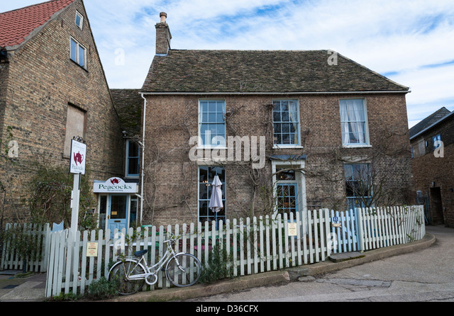 Peacocks Tea Room In Ely Cambridgeshire
