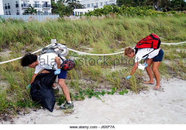 Volunteer Beach Cleanup Miami