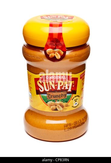 Peanut butter - Stock Image