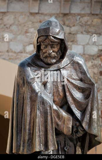 Statue de François Grimaldi - Stock Image
