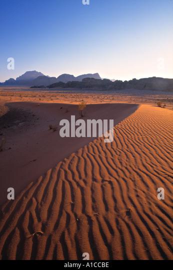 Wadi Rum, Jordan - Stock Image