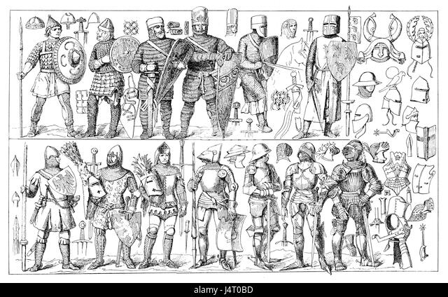 Knight Armor Helmet Engraving Stock Photos & Knight Armor ...