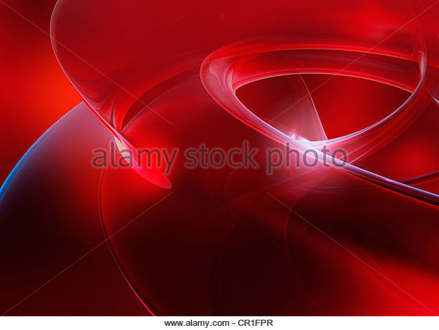 Abstract digitally generated red backgrounds - Stock-Bilder