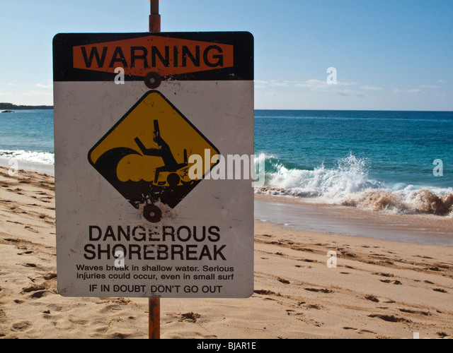 beach warning sign stock photos amp beach warning sign stock