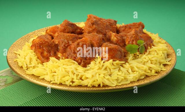 INDIAN CHICKEN TIKKA MASALA - Stock Image