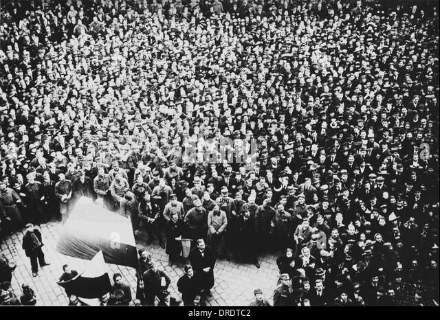 Prague 1918 - Stock Image
