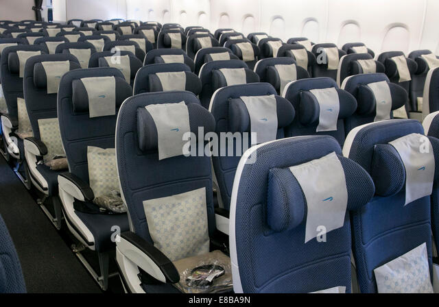 Airbus A380 Interior Stock Photos Airbus A380 Interior Stock Images A