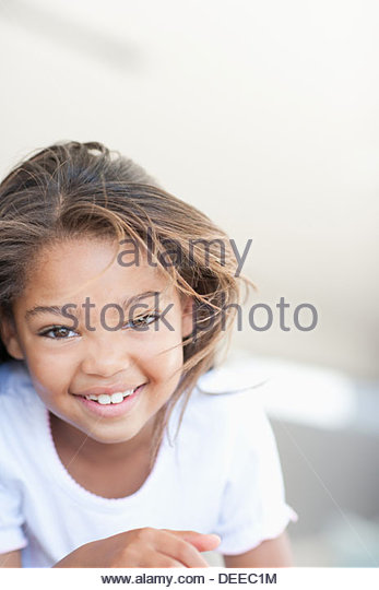 African girl smiling - Stock-Bilder