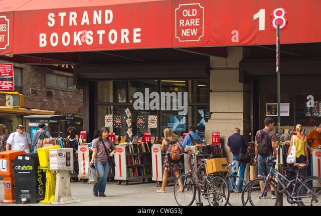 Strand bookstore in New York City - Stock Image