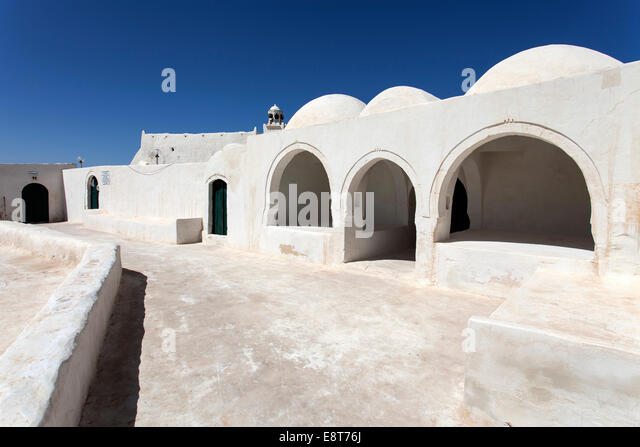 El Katib mosque, Djerba, Tunisia - Stock Image