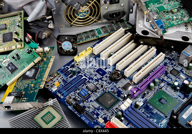 computer components - Stock Image