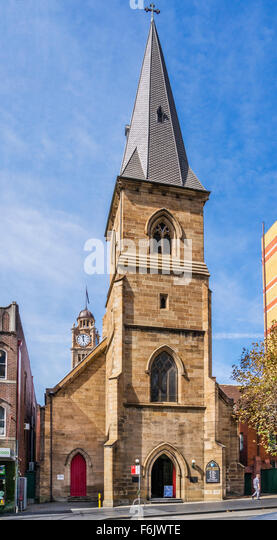 Australia, New South Wales, Sydney, Christ Church St Laurence at Railway Square Sydney - Stock Image