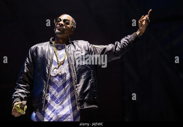 Snoop Dogg performs at 2017 Beale Street Music Festival at Tom Lee Park in Memphis, Tenn. on May 5, 2017. - Stock Image