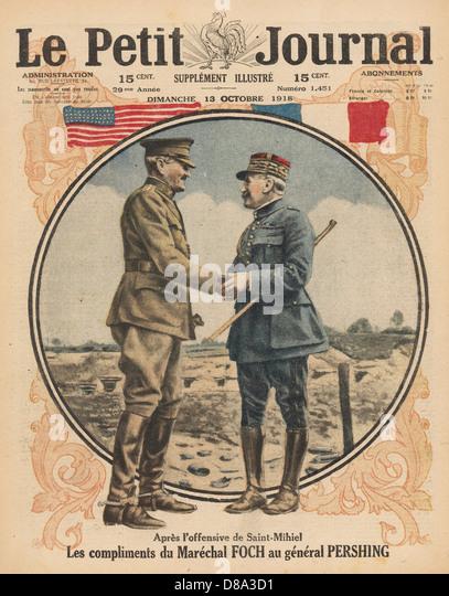 Pershing Foch - Stock Image