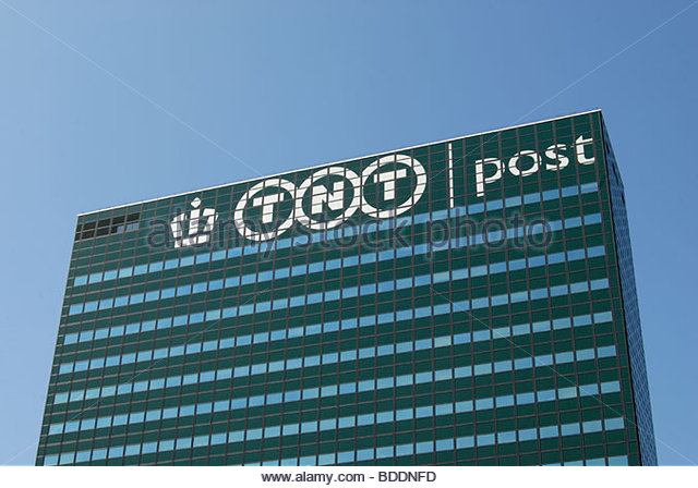 The Hague The Netherlands August 2009: TNT Post Headquarters - Prinses Beatrixlaan 23, The Hague. - Stock Image