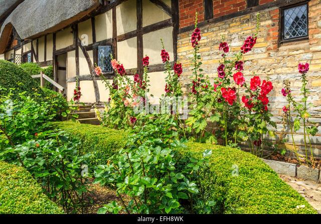 warwickshire thatched cottage stock photos  u0026 warwickshire