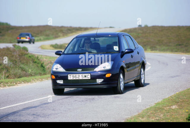 1999 Ford Focus Ghia. Artist: Unknown. - Stock Image