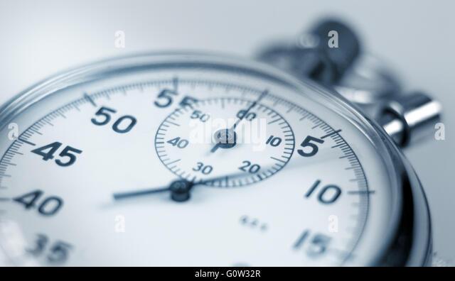 Stopwatch. - Stock-Bilder