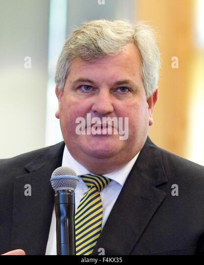 FILE PICS: Odney, Cookham, Berkshire, UK. 1st October, 2015. Ex-Managing Director of waitrose Mark price speaking - Stock Image