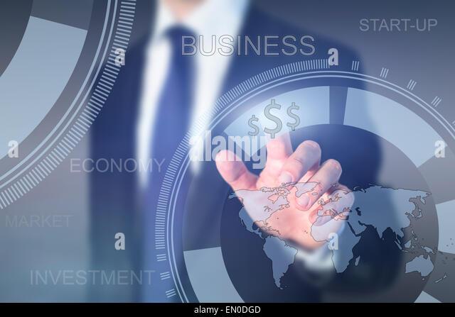 global business concept, start-up - Stock-Bilder