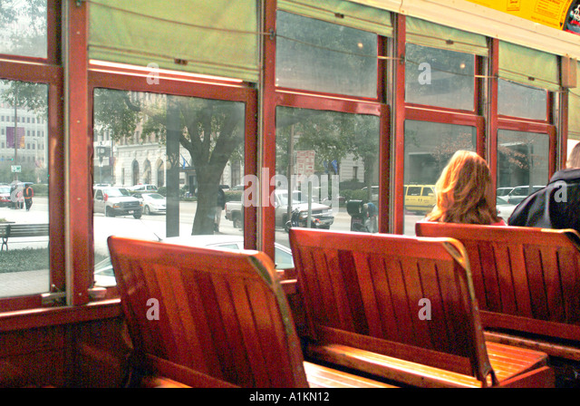passengers streetcar stock photos passengers streetcar stock images alamy. Black Bedroom Furniture Sets. Home Design Ideas
