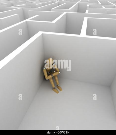 Depression - Stock Image