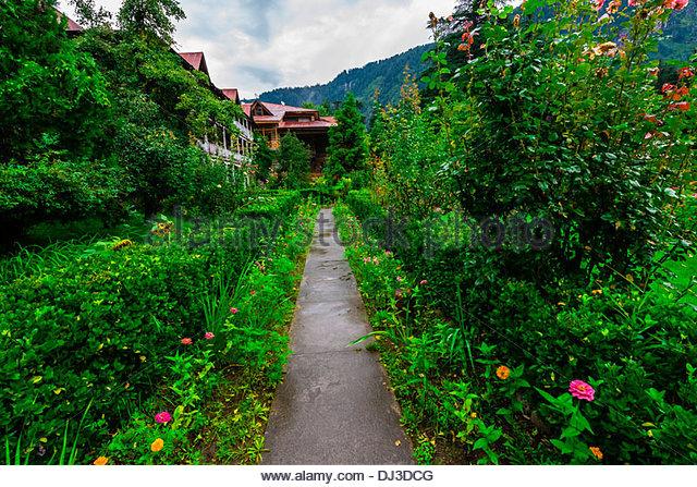 Banon Resorts Hotel, Manali, Himachal Pradesh, India. - Stock-Bilder