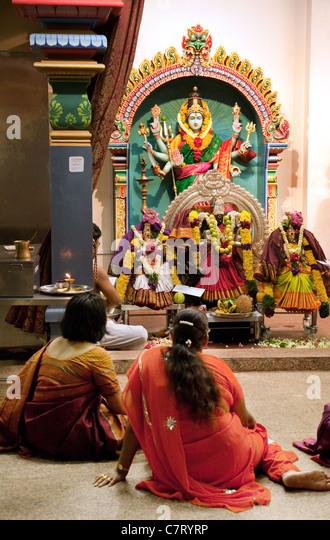 Hindu Temple Interior Inside Stock Photos & Hindu Temple ...